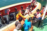 Tersangkut Karang, Kapal Perintis Kandas di Tuapejat