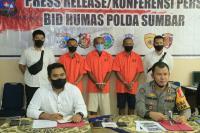 Tiga Pelaku Tambang Emas Liar di Solsel Ditangkap