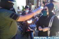Wajib Pakai Masker dan Sarung Tangan di Pasar Tanah Kongsi