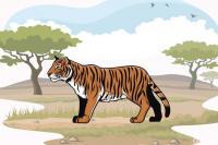 Warga Gantung Ciri Tangkap Seekor Harimau